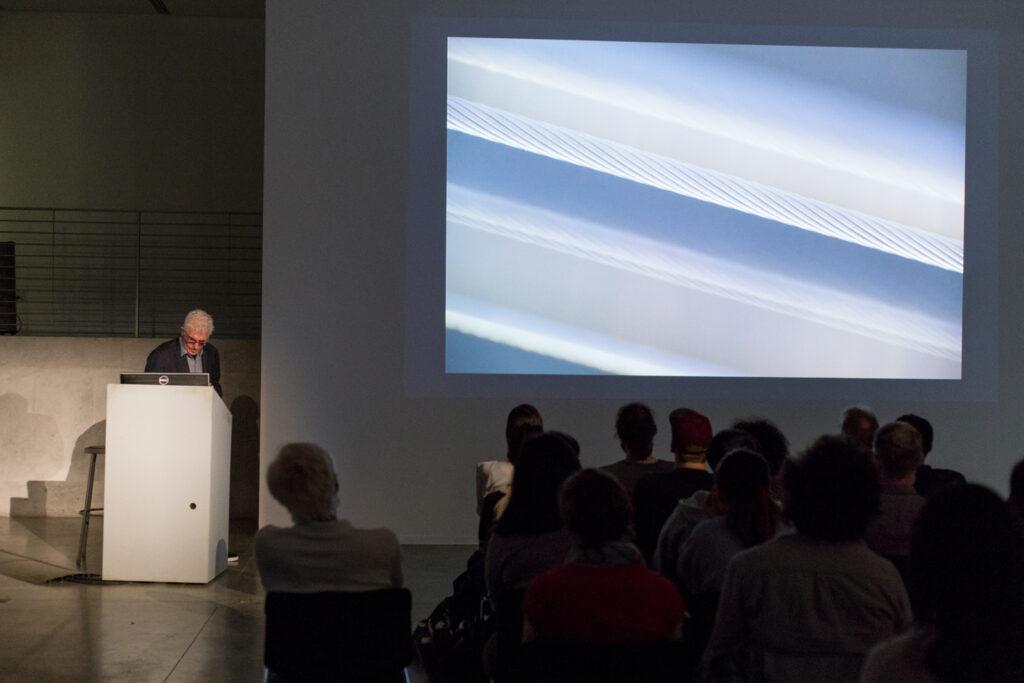 Bill Fontana's lecture.