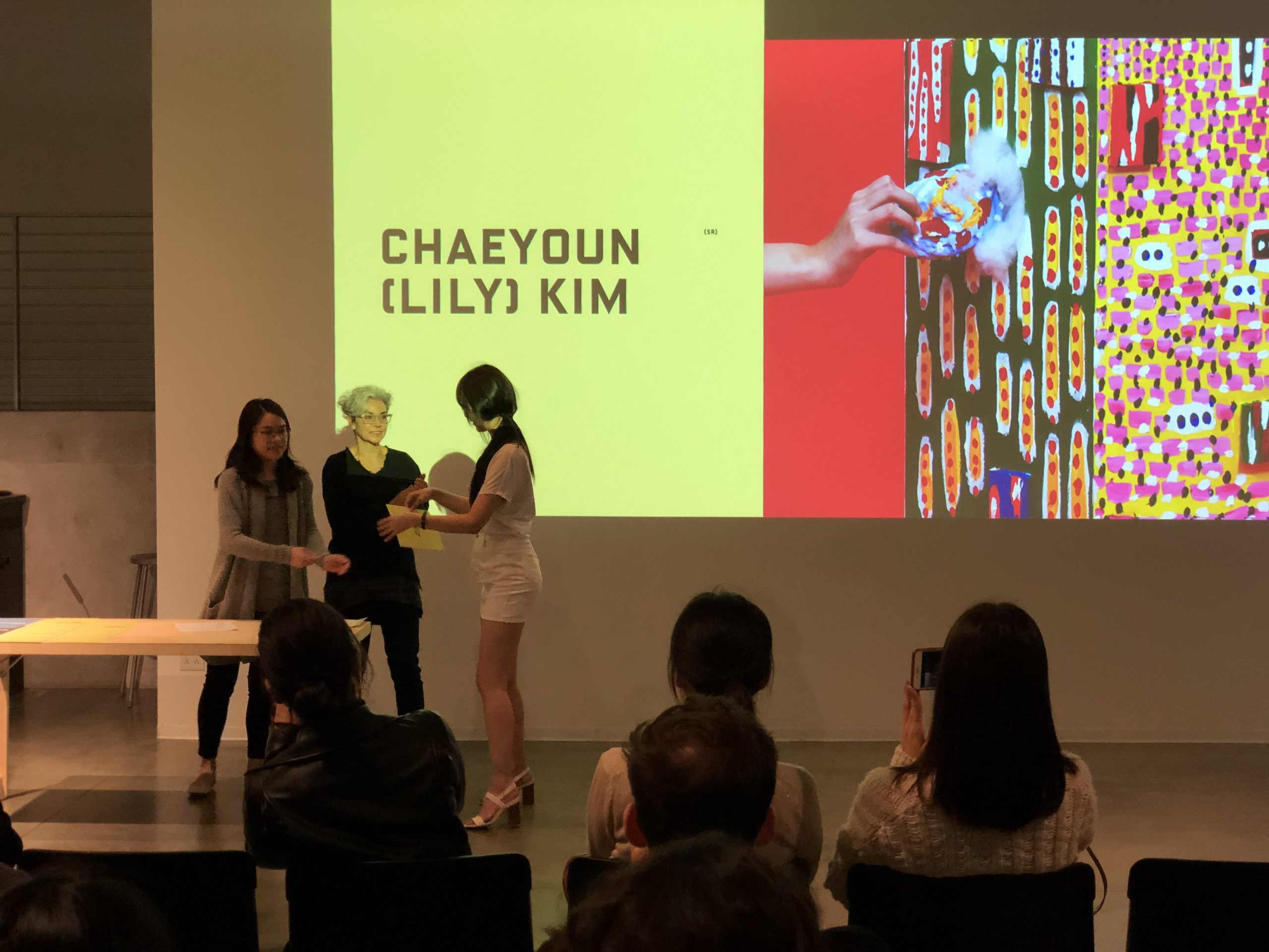 DMA Scholarship Reception 2019-2020, Chaeyoun [Lily] Kim