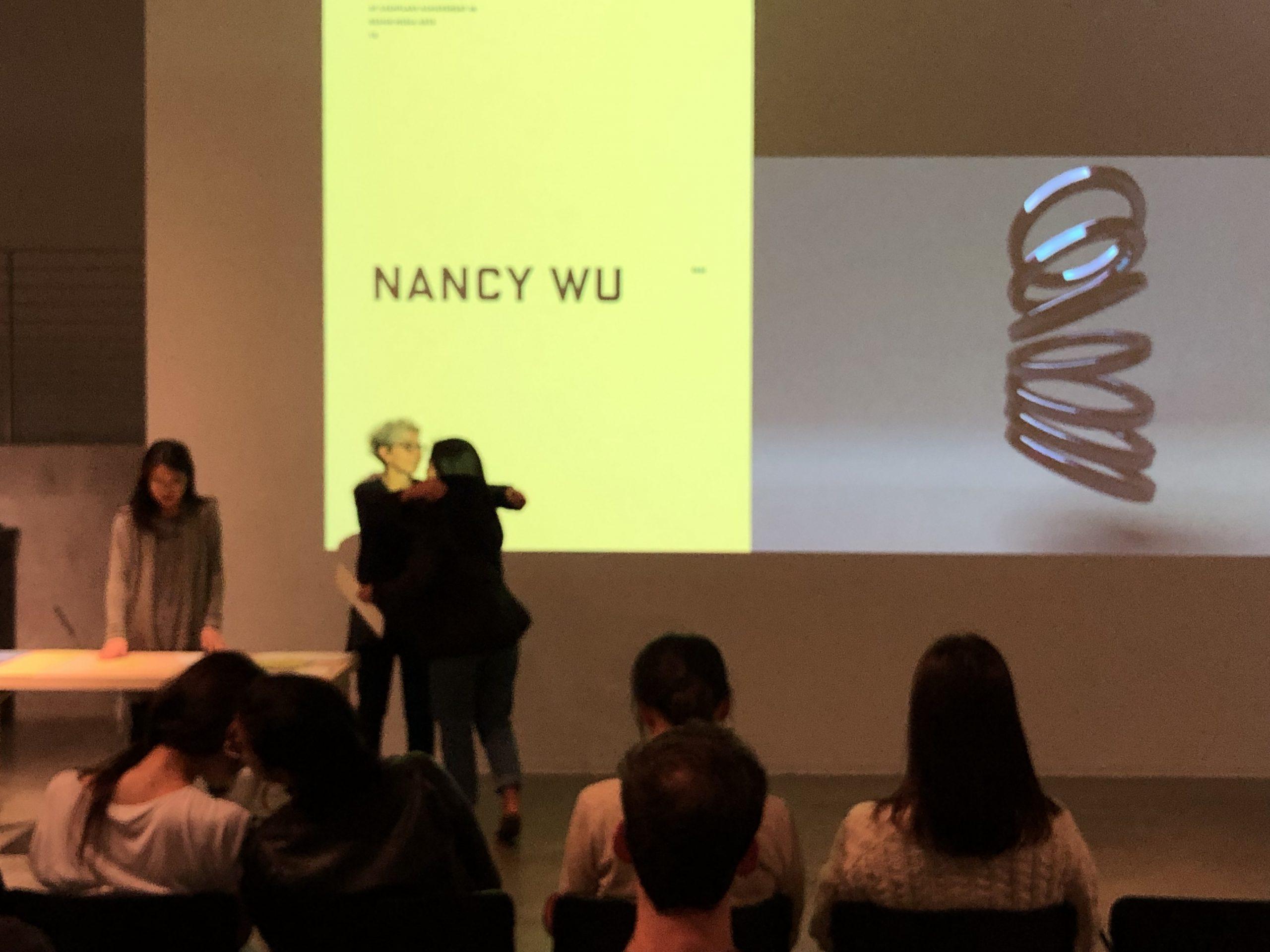 DMA Scholarship Reception 2019-2020, Nancy Wu