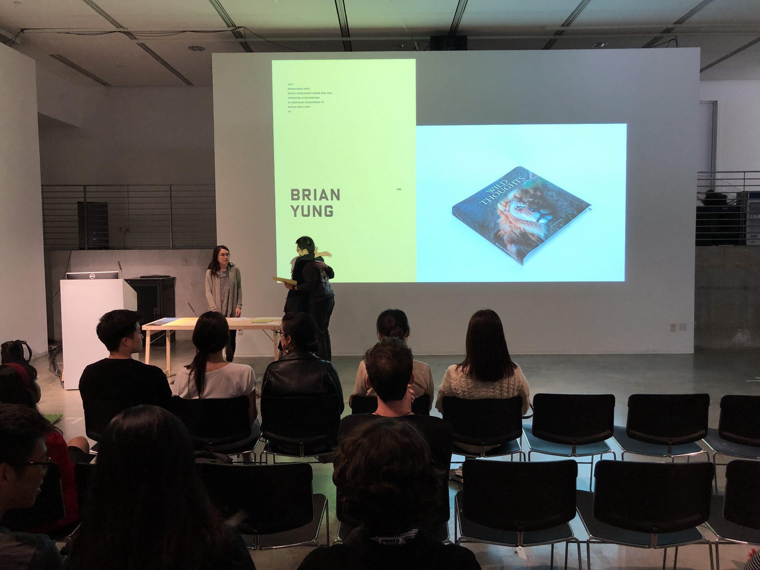 DMA Scholarship Reception 2019-2020, Brian Yung