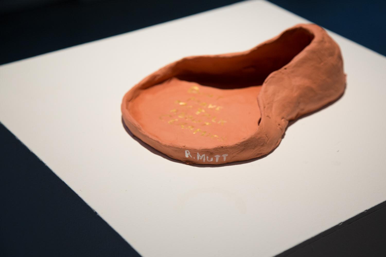 Clay? Duchamp's urinal redone.