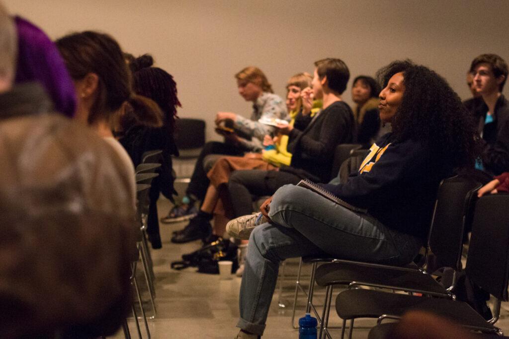Angela Washko's audience members.