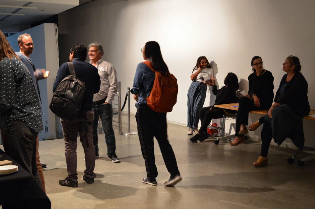 Andrea Polli reception