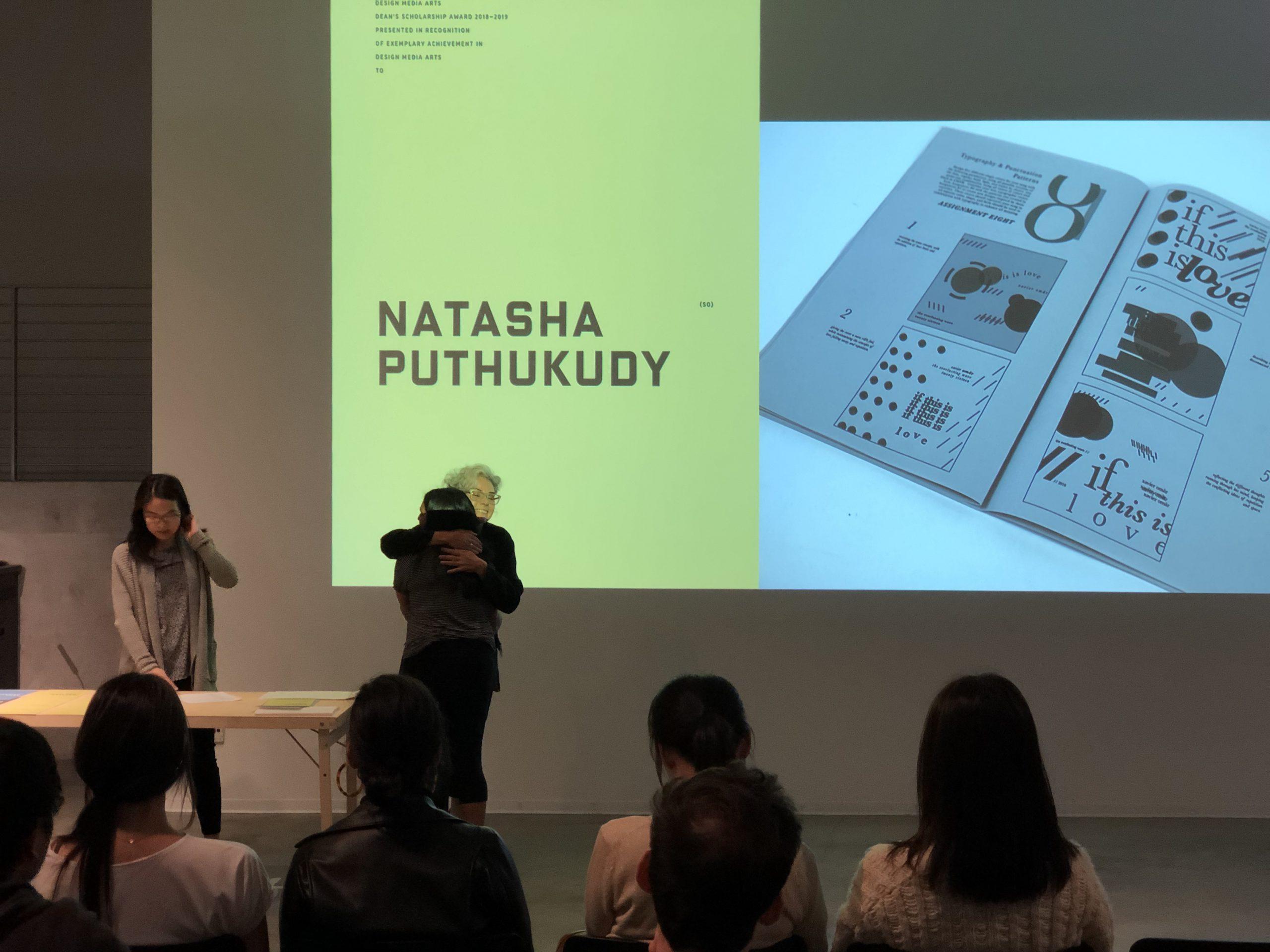 DMA Scholarship Reception 2019-2020, Natasha Puthukudy