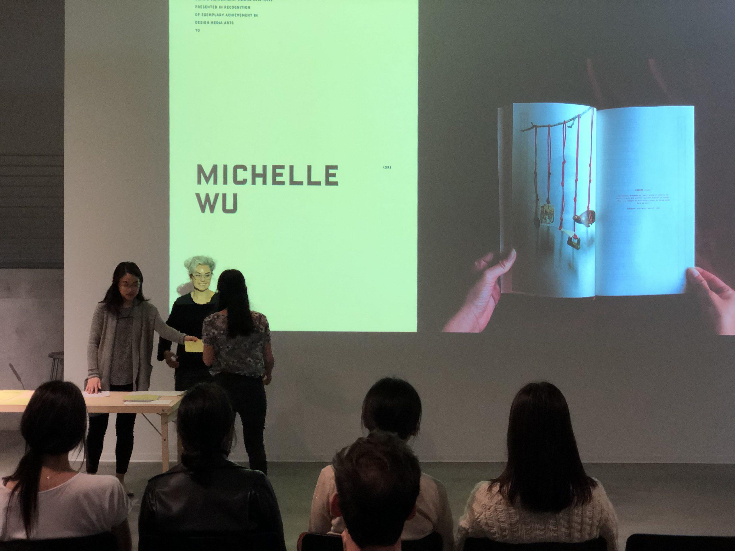 DMA Scholarship Reception 2019-2020, Michelle Wu