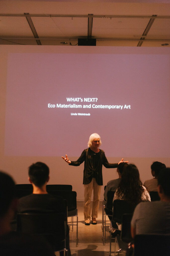 WHAT's NEXT? Eco Materialism and Contemporary Art.