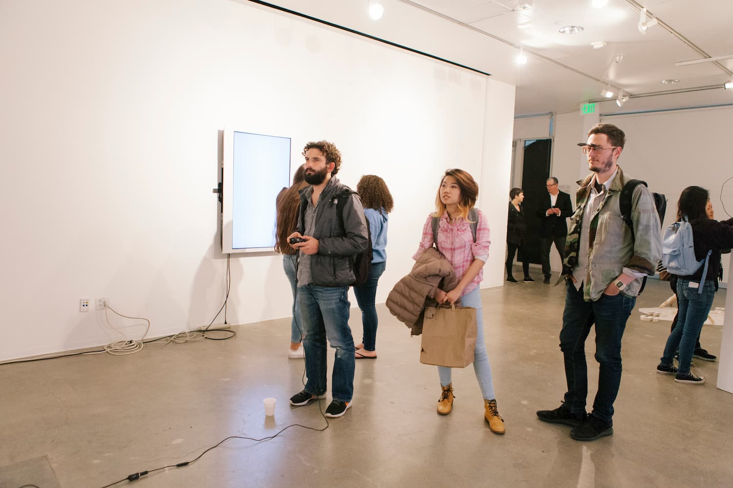 Audience during Stalgia Grigg's solo show.